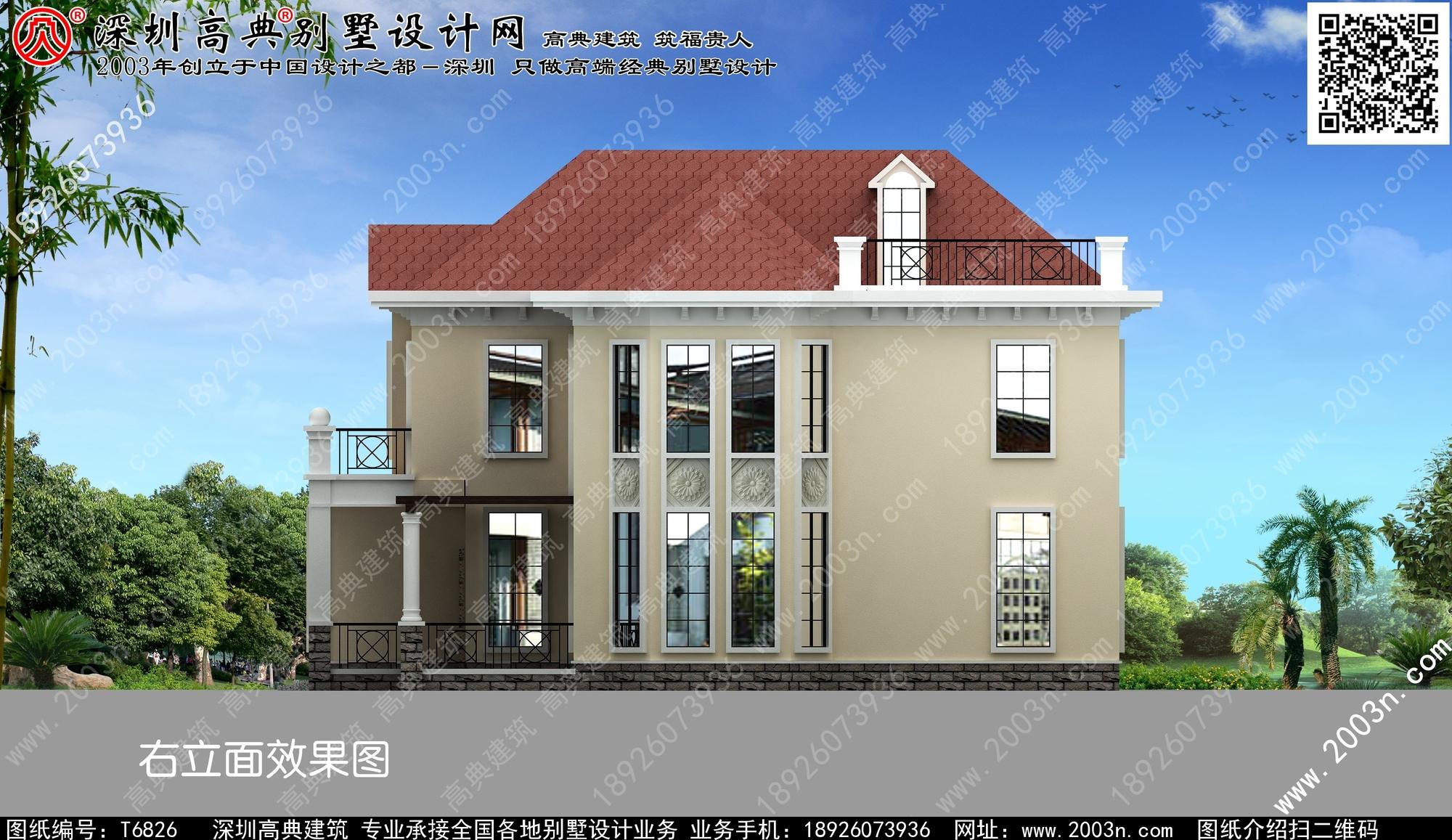 南方農村小別墅設計圖展示